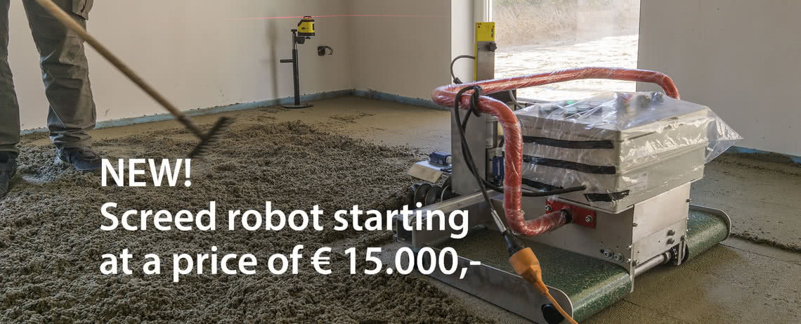 NEW Screed robot